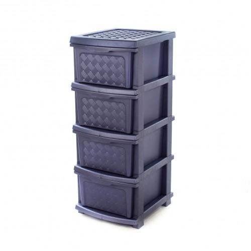 Комод R-plastic Компакт Плюс Фиолетовый