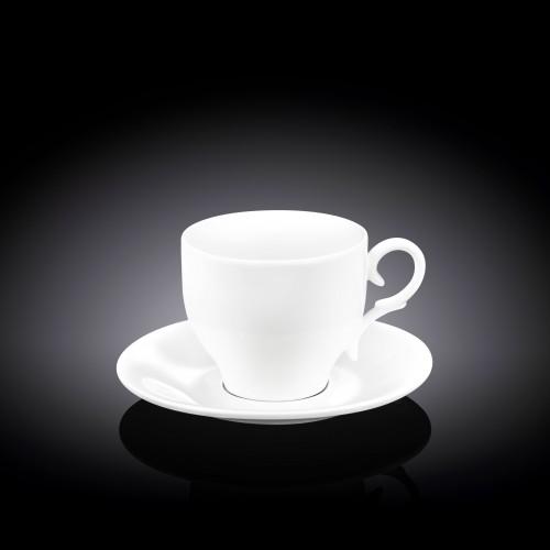 Чашка с блюдцем Wilmax WL-993009
