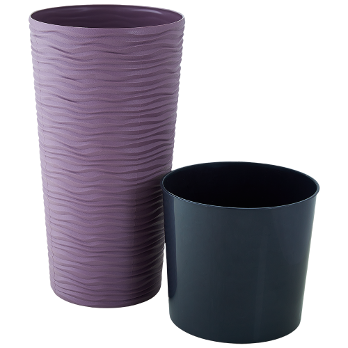 Квітковий вазон Алеана Фьюжн 22 Фіолетовий