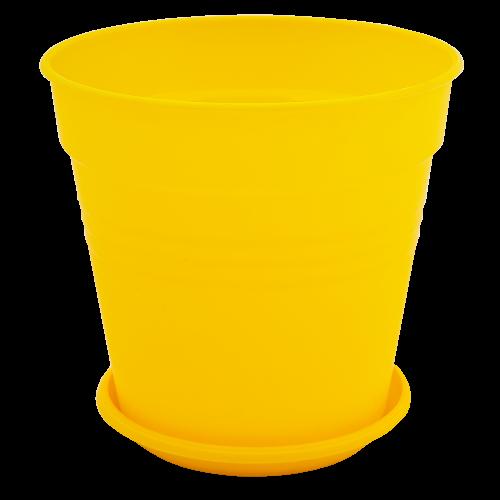 Квітковий горщик Алеана Глорія 11 Темно-жовтий