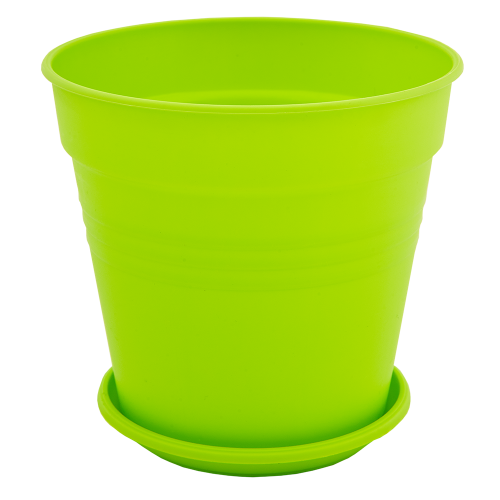 Квітковий горщик Алеана Глорія 14 Світло зелений