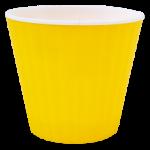 Квітковий горщик Алеана Ібіс 18 Жовтий з білою вставкою