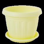 Квітковий горщик Алеана Терра 20 Жовтий