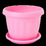 Квітковий горщик Алеана Терра 8 Рожевий