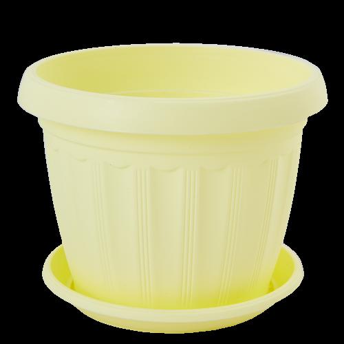 Квітковий горщик Алеана Терра 8 Жовтий