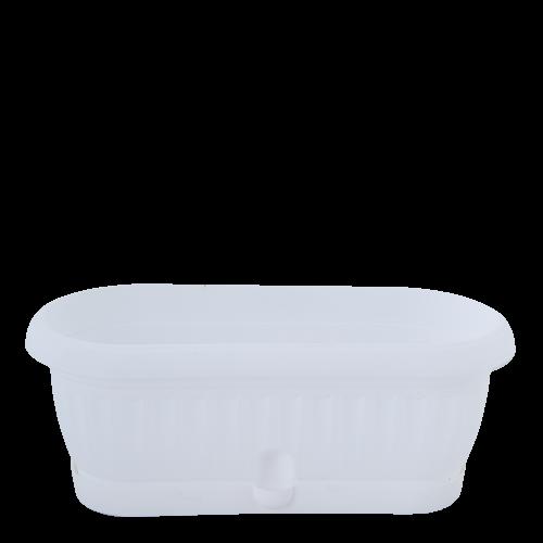 Квітковий горщик Алеана Терра Кактус 26,5 Білий