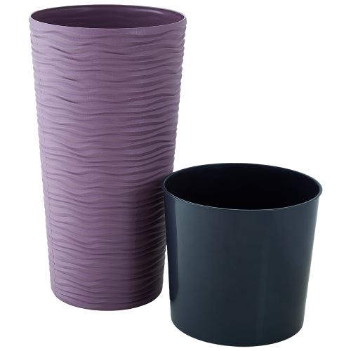 Квітковий вазон Алеана Фьюжн 16 Фіолетовий