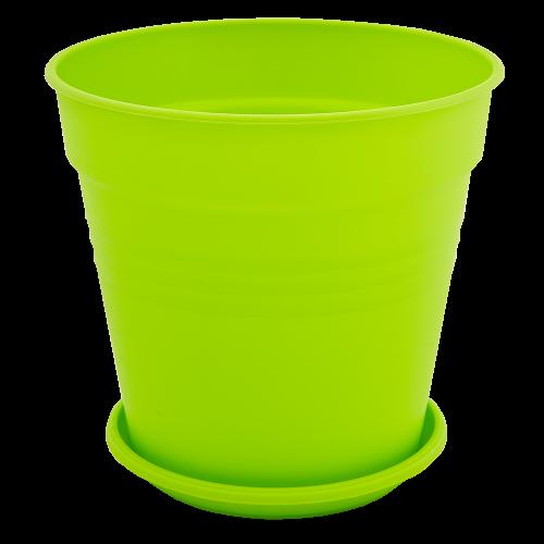 Квітковий горщик Алеана Глорія 18 Світло зелений