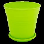 Квітковий горщик Алеана Глорія 24 Світло зелений