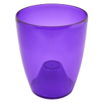 Квітковий горщик Алеана Орхідея 18 Фіолетовий прозорий