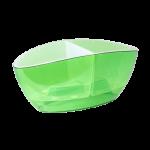 Квітковий горщик Алеана Орхідея Зелений прозорий