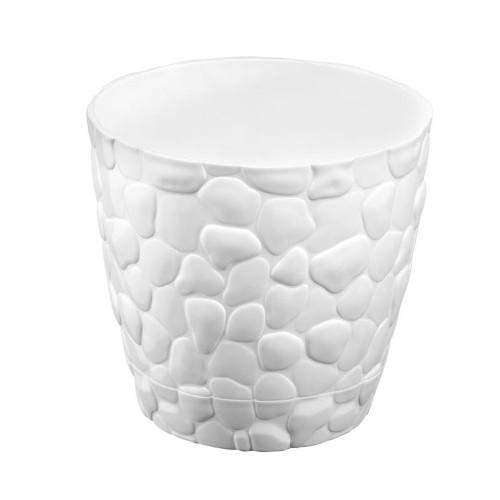 Квітковий горщик Elif Stone 442 Білий
