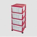 Комод Elif Classic 300-2 Рожевий