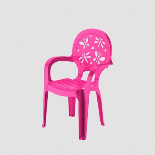 Детское кресло Elif Стрекоза 312-2 Малиновый