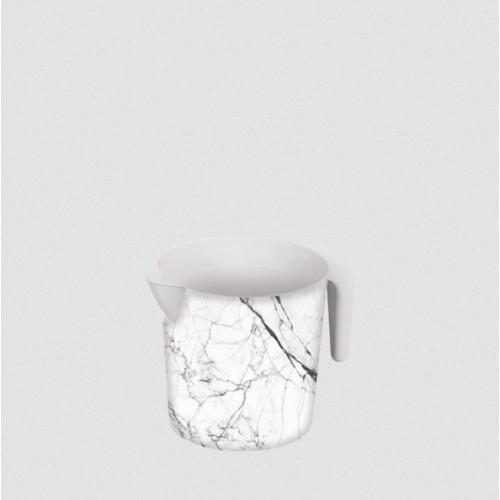 Ківш Elif Білий мармур 337-24