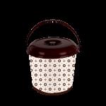 Ведро с крышкой Elif Louis Vuitton 14 л 358-25