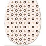 Кришка для унітазу Elif Louis Vuitton 372-25