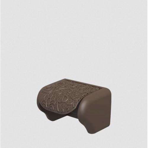 Держатель для туалетной бумаги Elif Ажур 376-5 Коричневый