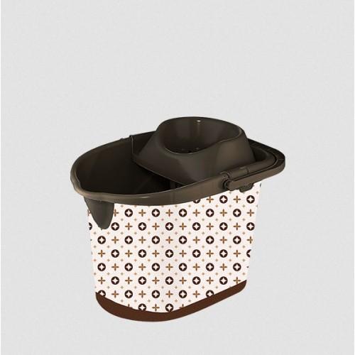 Ведро с отжимом Elif Louis Vuitton 381-25
