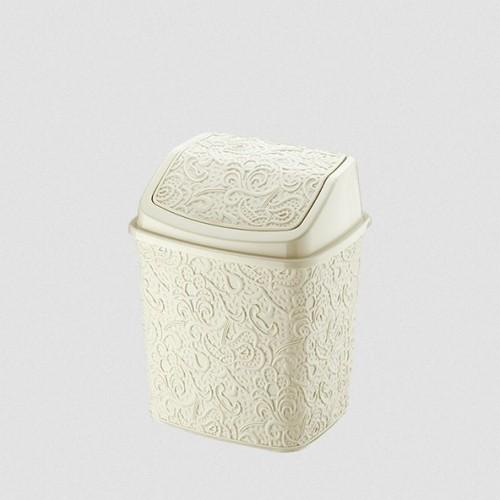 Відерце для сміття Elif Ажур 384-2 Бежевий