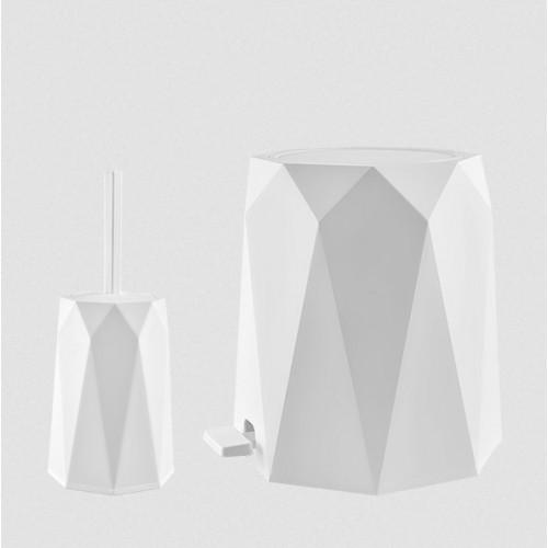 Набор для туалета Elif Geo 478-1 Белый