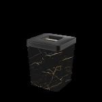 Контейнер для хранения Elif Черный мрамор 500-23