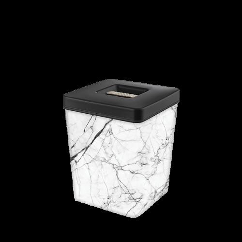 Контейнер для хранения Elif Белый мрамор 502-24