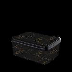 Ящик для хранения Elif Черный мрамор 503-23