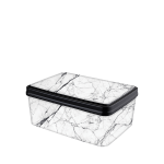 Ящик для зберігання Elif Білий мармур 503-24
