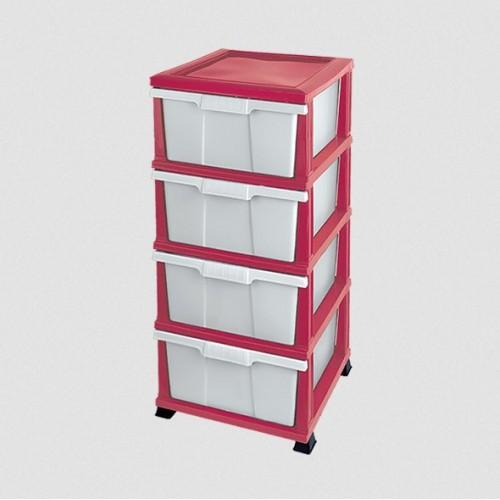 Комод Elif Classic 300-2 Розовый