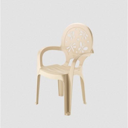 Детское кресло Elif Стрекоза 312-6 Бежевий
