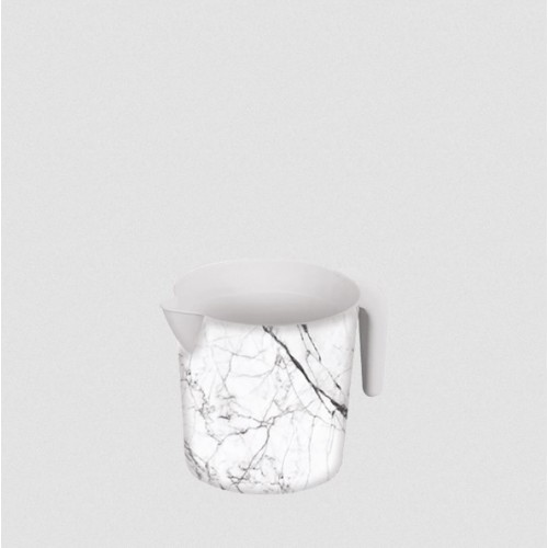 Ковш Elif Белый мрамор 337-24