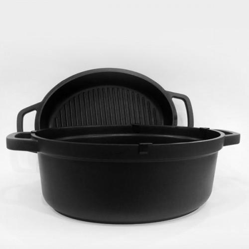 Кастрюля с крышкой-сковородой Maestro MR 4126