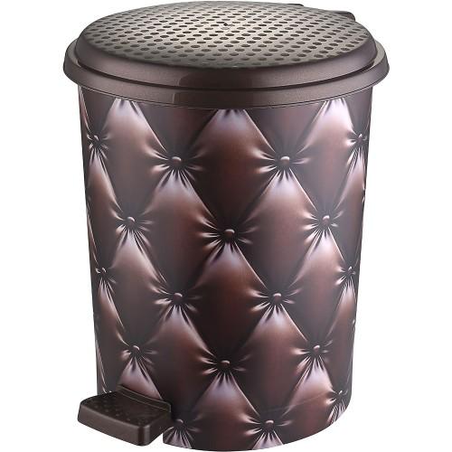 Відро з педаллю Elif Капітоні коричневий 11 л