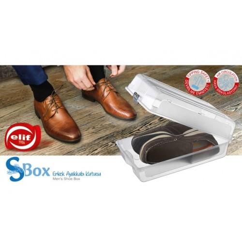 Контейнер для хранения мужской обуви Elif 506