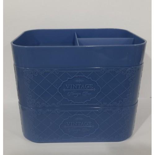 Контейнер двойной с вкладышем Titiz Vintage TP-577 Синий