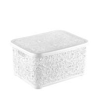 Корзина для хранения Elif Ажур 377-1 Белый
