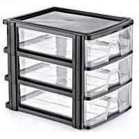 Корисні дрібниці: міні-комоди, кошики, - контейнери для порошку