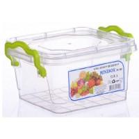 Розміри харчових контейнерів Ал-пластик