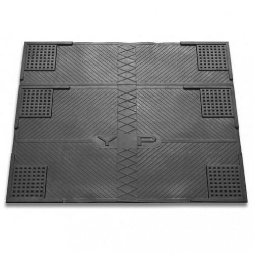 Гумовий противовибрационный килимок К-15