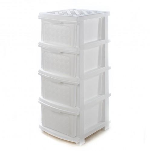 Комод R-plastic Компакт Плюс Белый