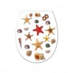 Крышка для унитаза Elif Морские звезды 372-1