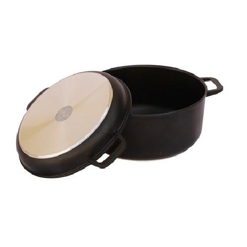 Кастрюля с крышкой-сковородой Биол К402П