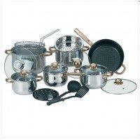 Кухонная посуда и аксессуары: наборы посуды, кастрюли, ковши, сковороды, емкости для хранения, ножи, термосы