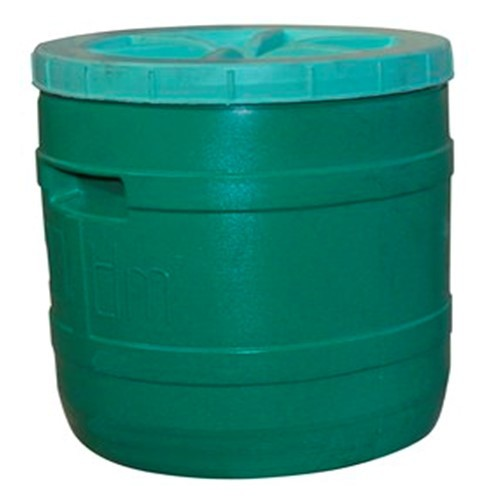 Бочка пластиковая цветная 25 л