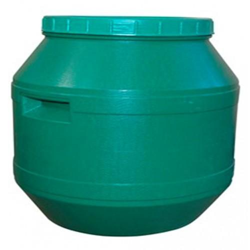 Бочка пластиковая цветная 60 л