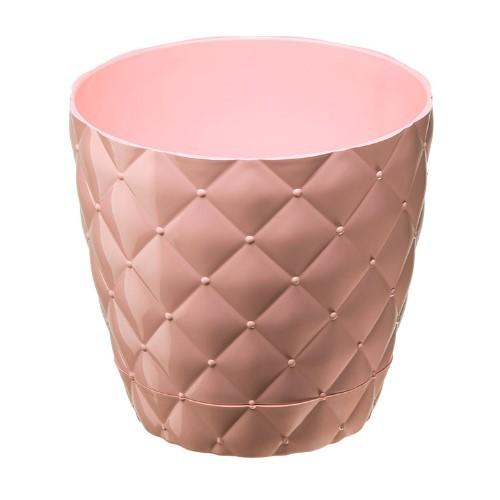 Квітковий горщик Elif Kapitone 435 Рожевий