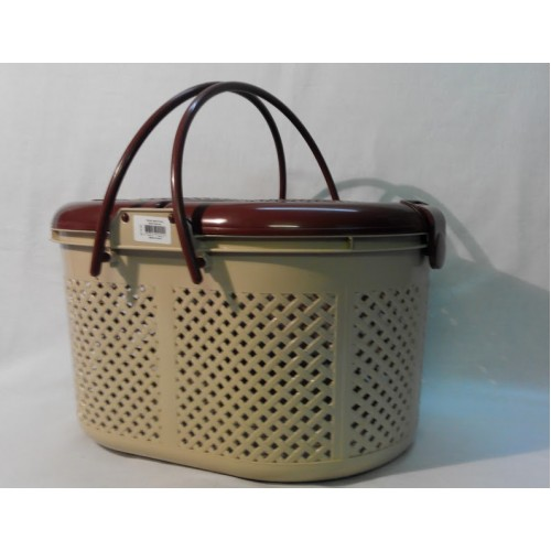 Корзина для пикника Irak Plastik SP-110 бежево-коричневая
