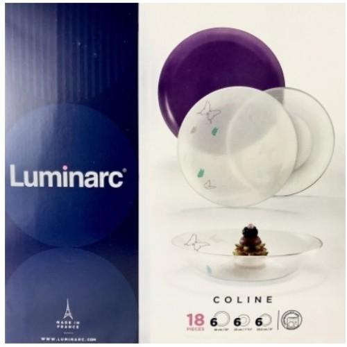 Сервиз Luminarc Coline 18 предметов N2233