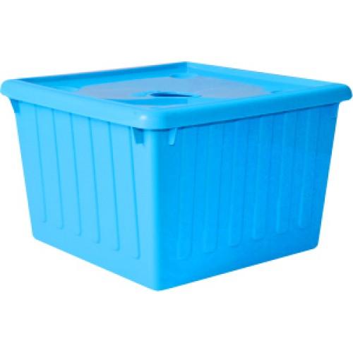 Емкость для хранения 25 л Алеана 122043 Голубой